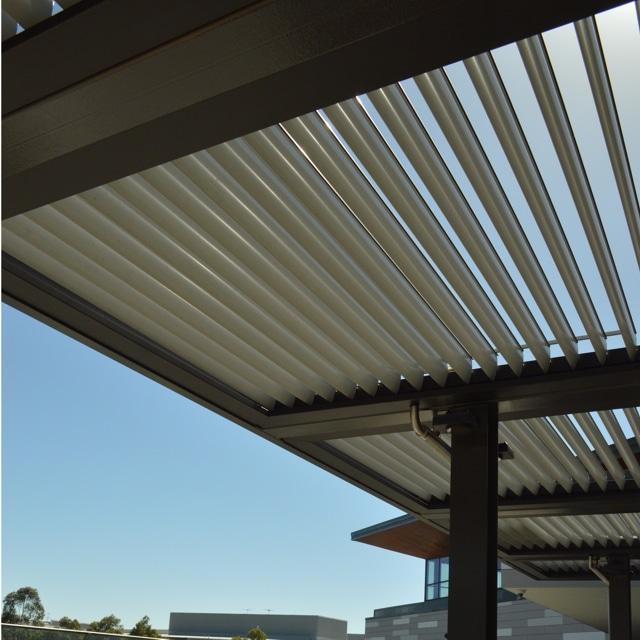 metal louvre awnings
