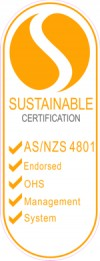 SUSTAINABLE CERTIFICATION ASNZS 4801